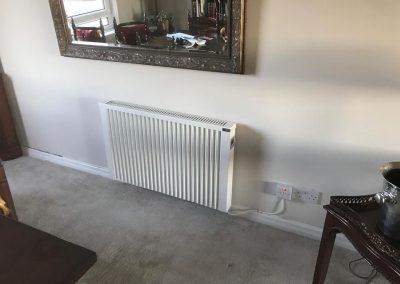 modern WiFi controlled electric radiator
